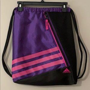 ADIDAS Drawstring Bag, LIKE NEW!!!